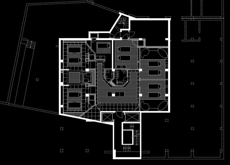 spa lounge hotel savoy k ln architekturb ro dipl ing robert rappold. Black Bedroom Furniture Sets. Home Design Ideas